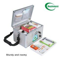 Casella di memoria di alluminio robusta portatile chiudibile a chiave della medicina (MS8011)