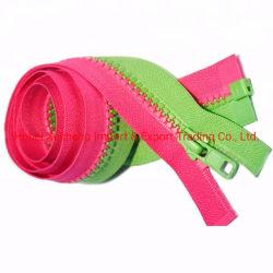 De mengeling-Tanden van Manufactory Plastic Ritssluiting voor Kleren