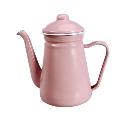 Высокое качество запасов на заводе эмаль Кофейник Enamelware чайник для приготовления чая и посуда для кемпинга Кофейник