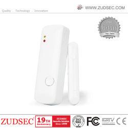 Porta/Janela Sem Fio do Sensor de Folga Detector com bateria para alarme GSM GSM WiFi de Segurança Inicial do Sistema de Alarme de Intrusão