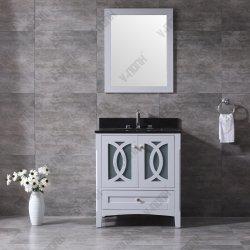 Strapazierfähiges Einsink-Bad-Vanity mit schwarzem Granit Oberteil