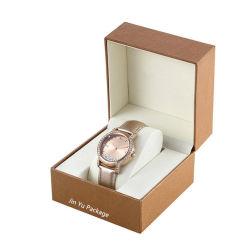 Het uitstekende Geval van de Doos van de Verpakking van het Horloge van de Gift Hinger van de Douane Met de hand gemaakte Plastic