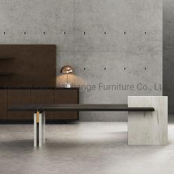 Роскошный китайской деревянной исполнительного таблица современный домашний офис мебель (HC-камень)