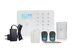 Sistemas de alarme de intrusão sem fio GSM com 7*24 Horas Aplicações de segurança