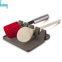 Cuchara de silicona descansa Utensilios de Cocina Cocina soporte