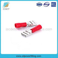 Изолированный разъем провода с наконечником электрические Обжать клеммы