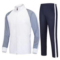Ontwerp 5% van de Manier van het Embleem van de douane Lycra 95% Kostuum van het Spoor van de Slijtage van de Sporten van de Polyester