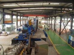 Faibles en oxygène et de coulée continue de la tige de cuivre Usine de laminage de ligne de production