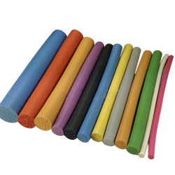 Раунда многоцветные силиконового герметика вспенивания уплотнительная лента для дверей Windows