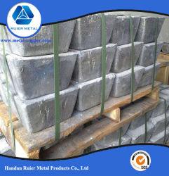 Precio competitivo de lingotes de Antimonio (Sb) 99.65% 99.85% y 99,9%