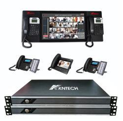 Sistema de PBX IP Kntd-1500 Sistema VoIP servidor SIP
