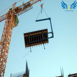 Lianggong Modular Steel Props와 Plywood Concrete Slab Roof Formwork Scaffolding System