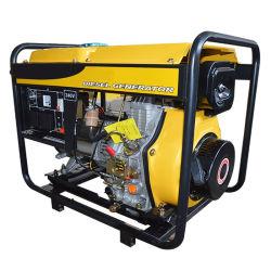 El Motor de Arranque Eléctrico Portátil 192f 6kw de potencia del motor Diesel Generator