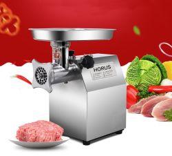 Uso comercial moedor de carne do picador de carne eléctrico para talho picadora de carne em aço inoxidável