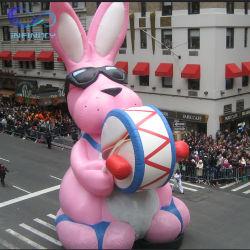 Nuevo Astillero vacaciones inflables inflables gigantes de publicidad exterior decoraciones Conejo de Pascua la decoración de globos inflables para eventos