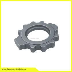 ODM/OEM el mecanizado de piezas de forja de acero inoxidable de brida Válvula de mariposa