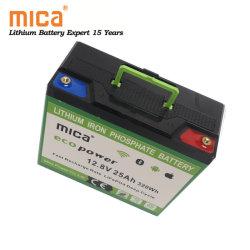 Горячая продажа LiFePO4 аккумуляторная батарея 12V 20AH 25AH 30AH поле для гольфа Trolly безопасности питания литиевые батареи