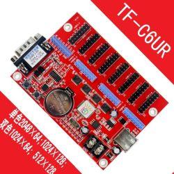 TF-C6UR/TF-C3u a conduit la réception de la carte contrôleur d'affichage à LED en couleur