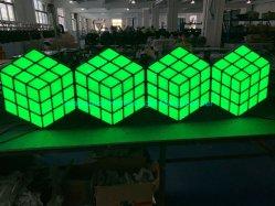 Neueste der Qualitäts-DMX512 magische Würfel-Wand Steuer-RGB-LED 3D