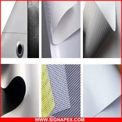 Qualidade elevada de dois lados Imprimir bloqueie os PVC flexível