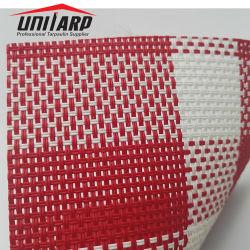 Colorear varios anti-UV Toldos tejidos de malla de PVC Mat Tabla de tela de manta de caballo
