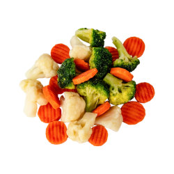 HACCPのレストランのための調理された冷凍食品IQFの混合された野菜