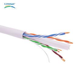 순수한 구리 UTP CAT6 커뮤니케이션 데이터 근거리 통신망 케이블