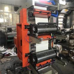 Máquina de impresión flexo de la producción de papel de embalaje Bolsa de supermercado en el bolso