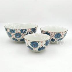 """De 4,5""""/5,5""""/7""""Hand-Painted Taça jantar em cerâmica"""