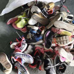 مزيج أسلوب لون اللون رخيصة الأطفال الثانية تستخدم اليد صانع الأحذية مخزون الأحذية (FF20915-2)