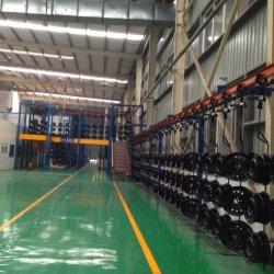 خط معدات الطلاء الآلي للسوائل/المسحوق/الطلاء الإلكتروني لإنتاج الأبواب الفولاذية