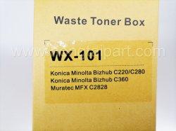 Überschüssiger Toner-Flasche für Konica Minolta C220 C280 (WX-101)