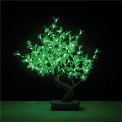 Indicatori luminosi di plastica chiari dell'albero LED della resina della decorazione di paesaggio del fiore della frutta dell'albero