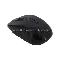 Mouse nero del calcolatore di colore 4D