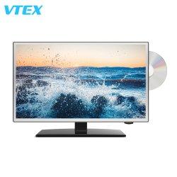 Hoogwaardig 24-inch voertuig 12 volt TV DC DVD-RW LCD-scherm voor buiten LED-display ATSC digitale kleine LED-TV