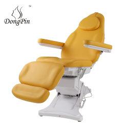 横たわる鉱泉の大広間の装飾的な電気美のベッド高さの調節可能なリクライニングチェアの美顔術の椅子