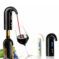 Cadeau de Noël 2020 Bar électronique Accessoires Amazon haut de vendre du vin vin rouge de la pompe d'aérateur aérateur automatique Pourer