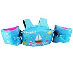 Banheira de vender o logotipo personalizado crianças esporte aquático colete de vida as crianças do Braço de natação jaqueta de Flutuação