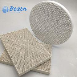 Infrarotbienenwabe-keramische Platte für das Brennen, Infrarotgasbrenner-Platte