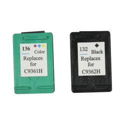 Черный картридж для принтеров HP C9362W (92) /C9361W (93) /94/95/96/97/ C9364W98