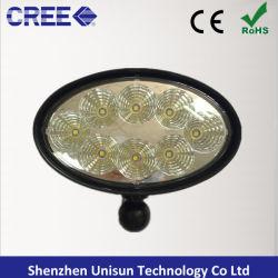 """12V 6 """" CREE LED ovales de 40W pour phares de travail John Deere"""