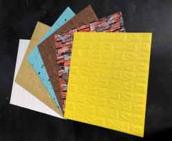 Los paneles de pared 3D 3D de espuma de PE de la pared de ladrillo de 3D fondos de escritorio para la decoración del hogar