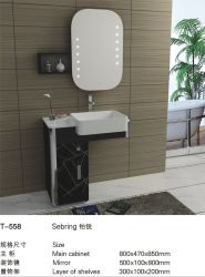 安い価格の高品質のステンレス鋼の洗面所の記憶の浴室用キャビネット