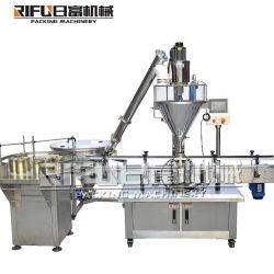 Automatisches Gewürz-Puder/Mehl-/Waschpulver-/Mais-Mahlzeit-/Coffee/Food-Puder-füllende Verpackungs-Verpacken-Maschinerie mit Schrauben-Zufuhr