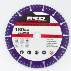 Профессиональный алмазный диск с вакуумной паяным покрытием для общего назначения