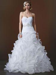 Bustier Organza robes de mariée robe de bal robe de mariée échelonné LC1540