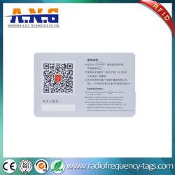 Carte d'identité en PVC de surface en verre dépoli avec ce / Certification SGS