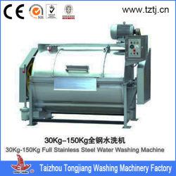 100kg de volledige Ss Industriële Wasmachine van de Wasserij voor de Kleren van de Stof/van het Linnen/van het Kledingstuk/van de Doek