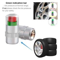 34 Psi Carro Válvula Sspp Cup com o indicador do sensor de cor 3 PCS 4 tampa de alerta para os olhos