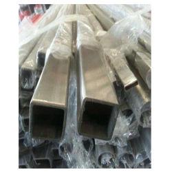 Matériaux de construction haute résistance tube rectangulaire en acier inoxydable pour la décoration